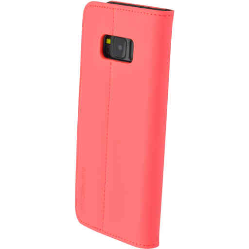 Mobiparts Premium Wallet TPU Case Samsung Galaxy S8 Peach Pink