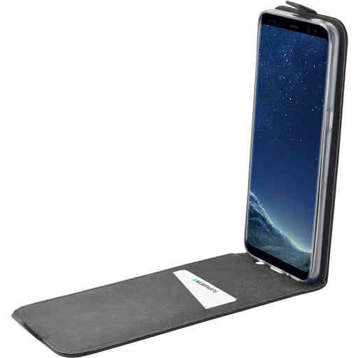 Mobiparts Premium Flip TPU Case Samsung Galaxy S8 Black