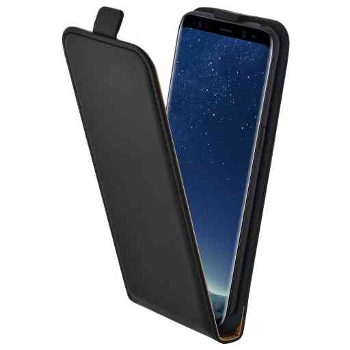 Mobiparts Essential Flip Case Samsung Galaxy S8 Black
