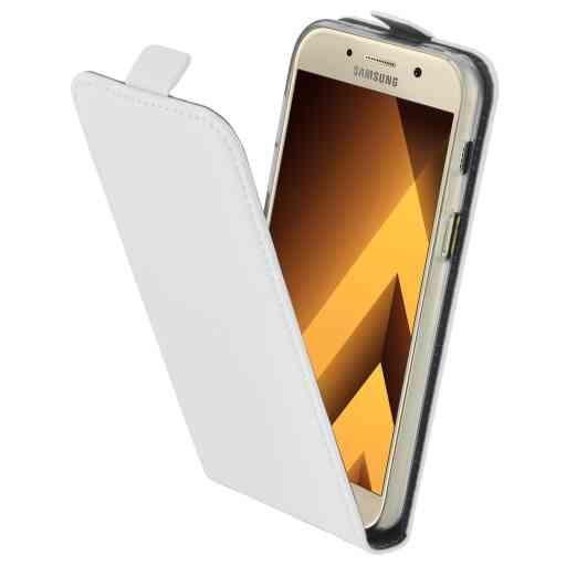 Mobiparts Premium Flip TPU Case Samsung Galaxy A3 (2017) White
