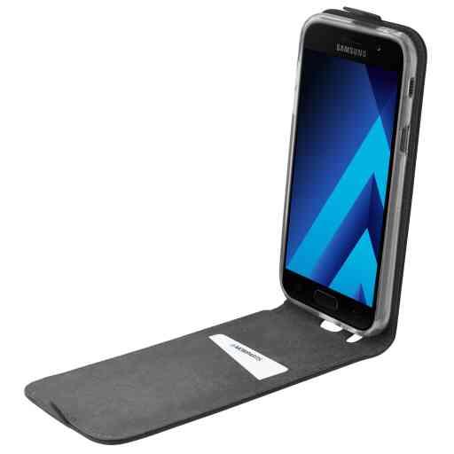Mobiparts Premium Flip TPU Case Samsung Galaxy A5 (2017) Black