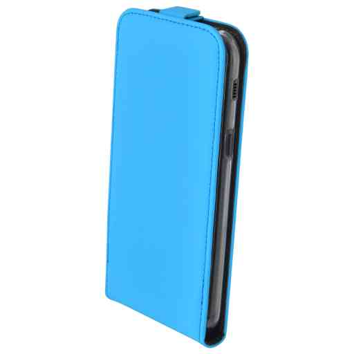 Mobiparts Premium Flip TPU Case Samsung Galaxy A5 (2017) Light Blue