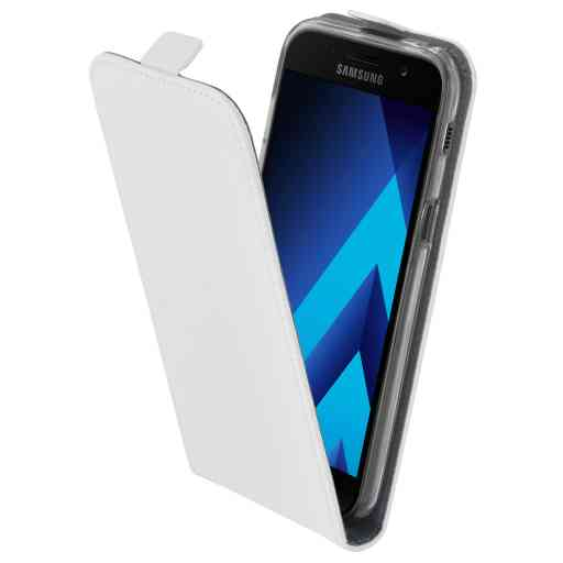Mobiparts Premium Flip TPU Case Samsung Galaxy A5 (2017) White