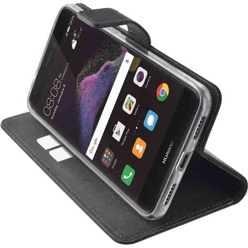Mobiparts Premium Wallet TPU Case Huawei P8/P9 Lite (2017) Black