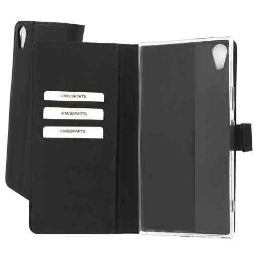 Mobiparts Premium Wallet TPU Case HTC U Ultra Black