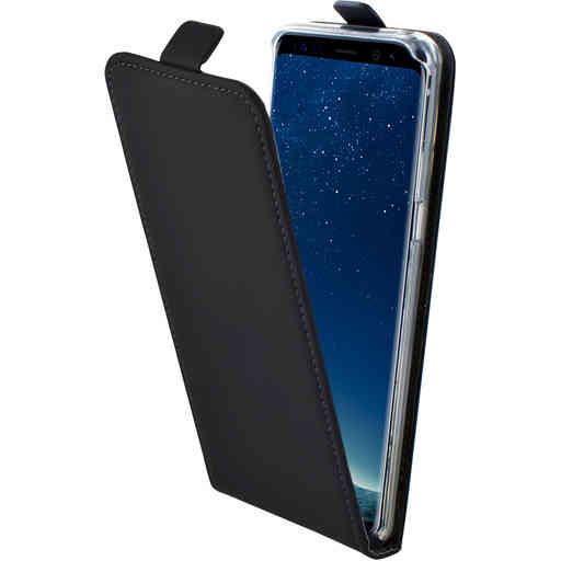 Mobiparts Premium Flip TPU Case Samsung Galaxy S8 Plus Black