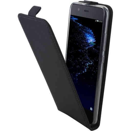 Mobiparts Premium Flip TPU Case Huawei P10 Black