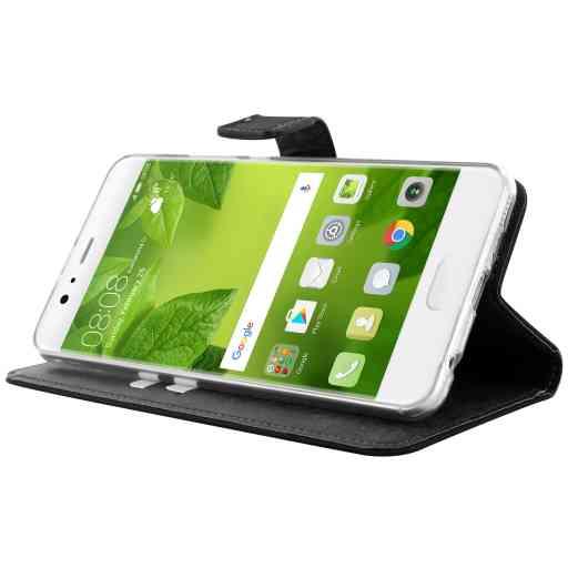 Mobiparts Premium Wallet TPU Case Huawei P10 Plus Black