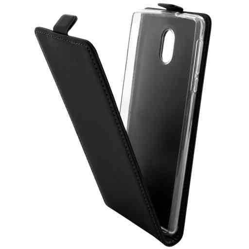 Mobiparts Premium Flip TPU Case Nokia 3 Black