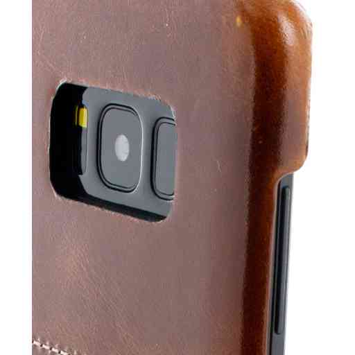 Mobiparts Excellent Backcover Samsung Galaxy S8 Plus Oaked Cognac
