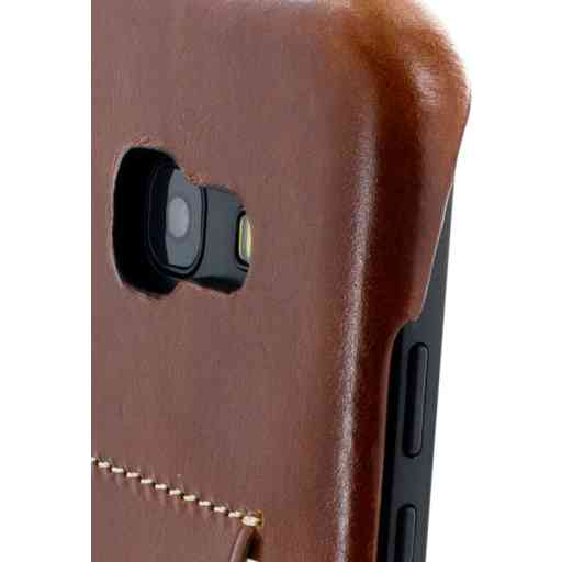 Mobiparts Excellent Backcover Samsung Galaxy A5 (2017) Oaked Cognac