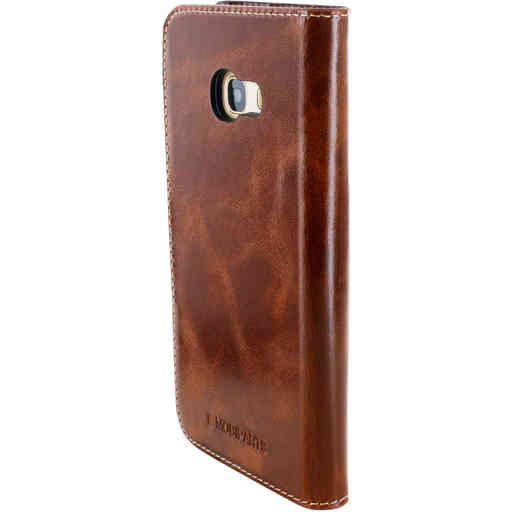 Mobiparts Excellent Wallet Case Samsung Galaxy A3 (2017) Oaked Cognac