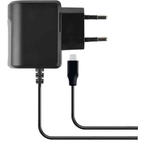 Mobiparts Wall Charger USB-C 2.4A Black