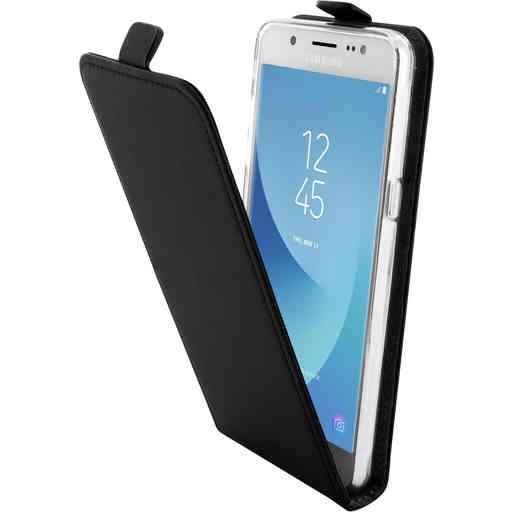 Mobiparts Premium Flip TPU Case Samsung Galaxy J5 (2016) Black