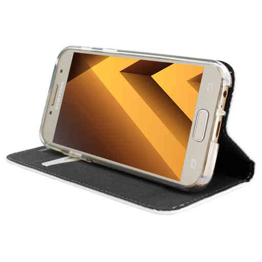 Mobiparts Magnetic Book Case Samsung Galaxy A3 (2017) White