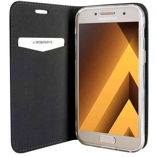 Mobiparts Magnetic Book Case Samsung Galaxy A3 (2017) Black