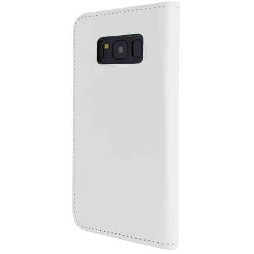 Mobiparts Magnetic Book Case Samsung Galaxy S8 White