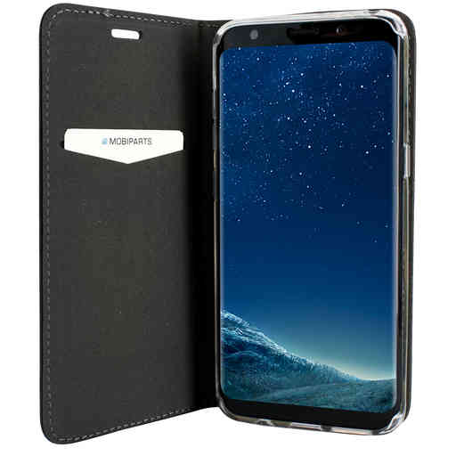 Mobiparts Magnetic Book Case Samsung Galaxy S8 Black