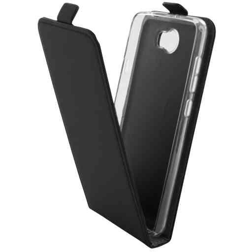 Mobiparts Premium Flip TPU Case Huawei Y5 II / Y6 II Compact Black
