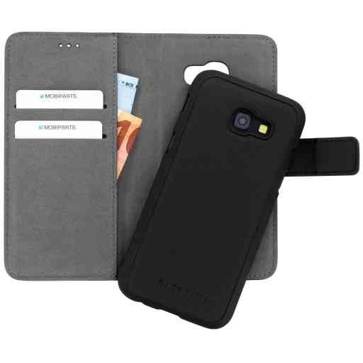 Mobiparts 2 in 1 Premium Wallet Case Samsung Galaxy A5 (2017) Black