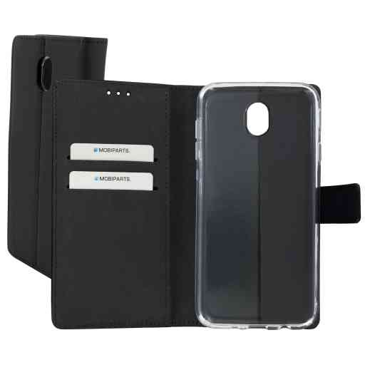 Mobiparts Premium Wallet TPU Case Samsung Galaxy J7 (2017) Black