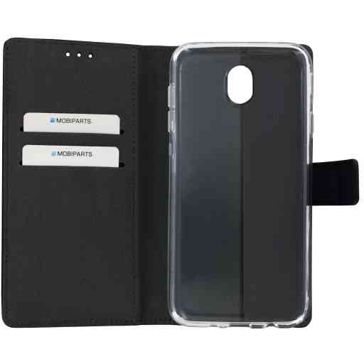 Mobiparts Premium Wallet TPU Case Samsung Galaxy J7 (2017) Black