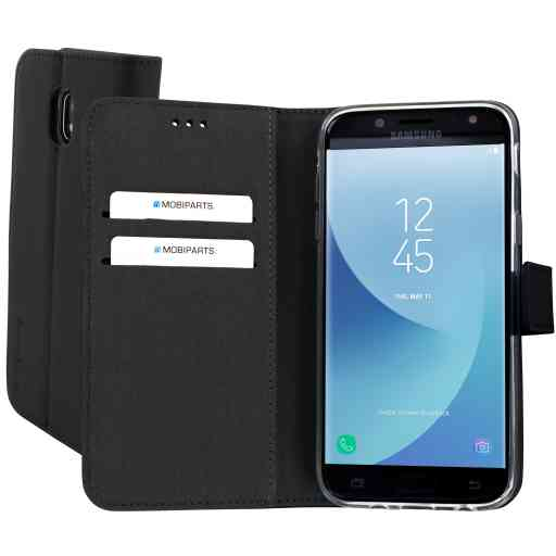 Mobiparts Premium Wallet TPU Case Samsung Galaxy J5 (2017) Black