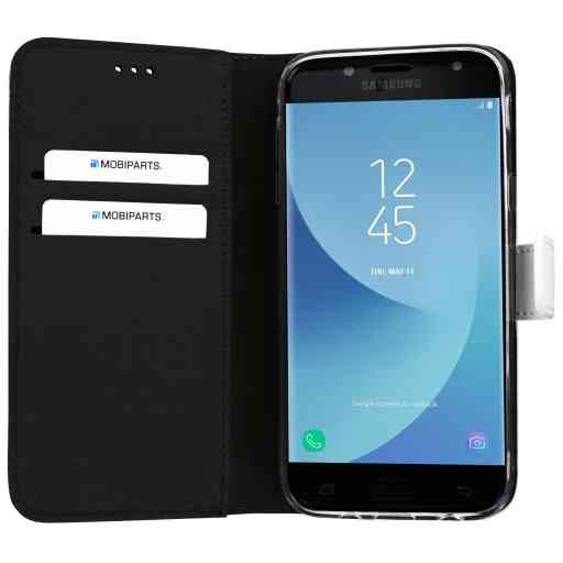 Mobiparts Premium Wallet TPU Case Samsung Galaxy J5 (2017) White