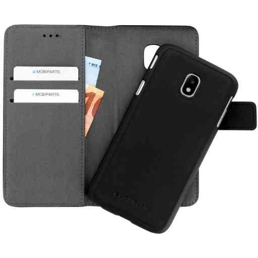 Mobiparts 2 in 1 Premium Wallet Case Samsung Galaxy J3 (2017) Black