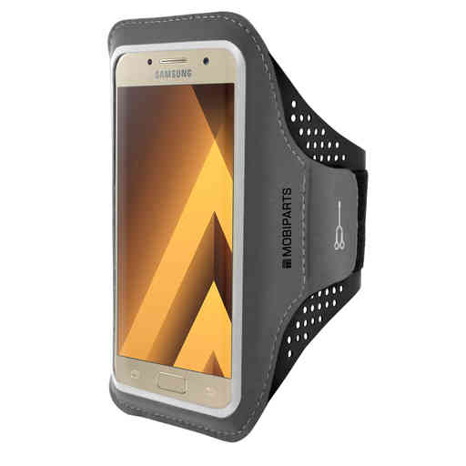 Mobiparts Comfort Fit Sport Armband Samsung Galaxy A3 (2017) Black