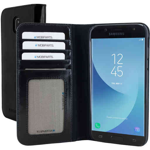 Mobiparts Excellent Wallet Case Samsung Galaxy J5 (2017) Jade Black