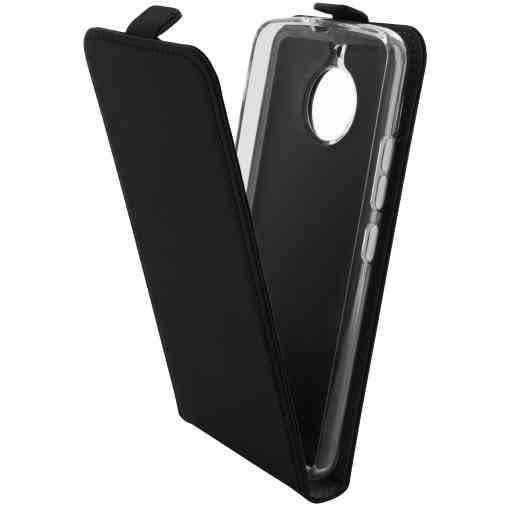 Mobiparts Premium Flip TPU Case Motorola Moto E4 Black