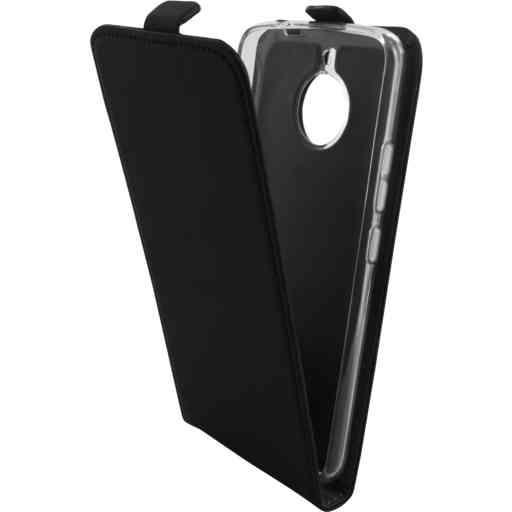 Mobiparts Premium Flip TPU Case Motorola Moto E4 Plus Black