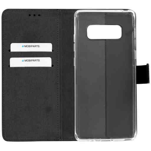 Mobiparts Premium Wallet TPU Case Samsung Galaxy Note 8 Black