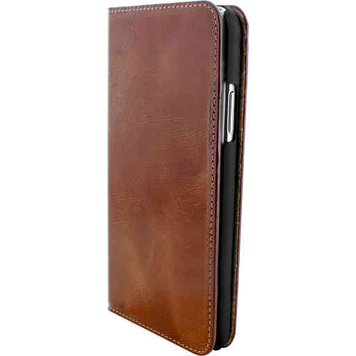 Mobiparts Excellent Wallet Case Apple iPhone X/XS Oaked Cognac