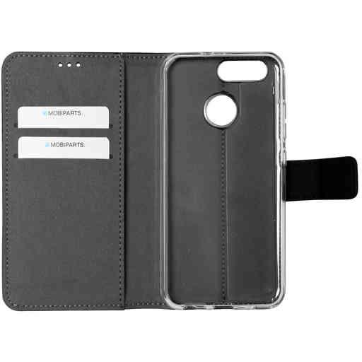 Mobiparts Premium Wallet TPU Case Huawei Nova 2 Black