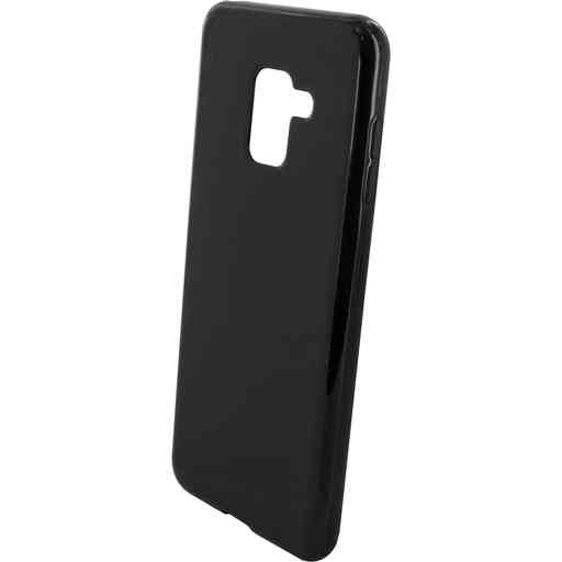 Mobiparts Classic TPU Case Samsung Galaxy A8 Plus (2018) Black