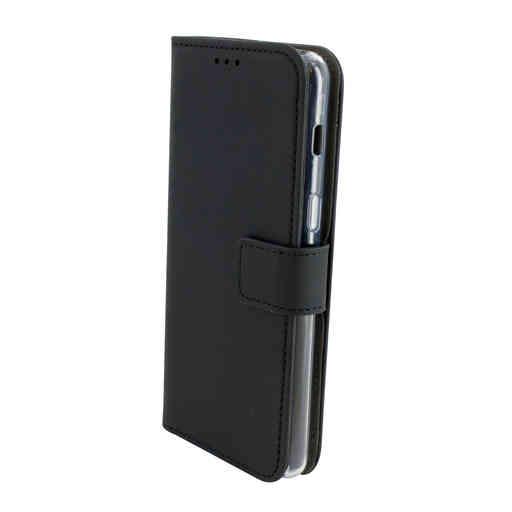 Mobiparts Premium Wallet TPU Case Samsung Galaxy A8 Plus (2018) Black