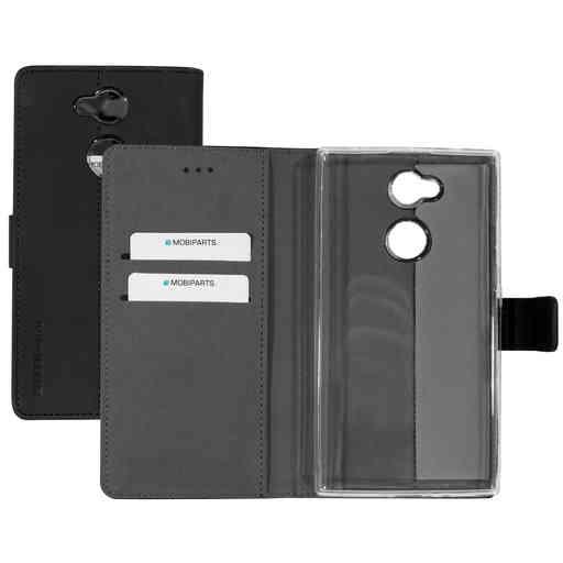 Mobiparts Premium Wallet TPU Case Sony Xperia L2 Black