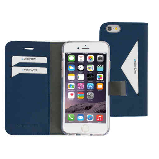 Mobiparts Classic Wallet Case Apple iPhone 6/6S Blue