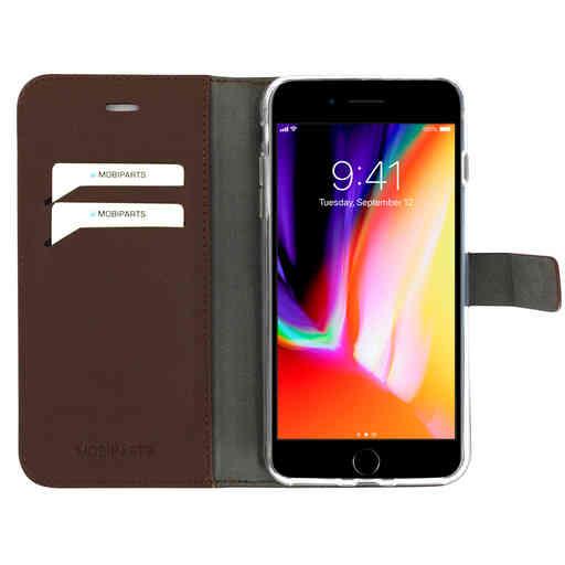 Mobiparts Classic Wallet Case Apple iPhone 7 Plus/ 8 Plus Brown
