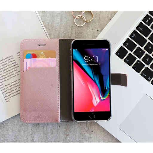 Mobiparts Saffiano Wallet Case Samsung Galaxy A3 (2017) Pink