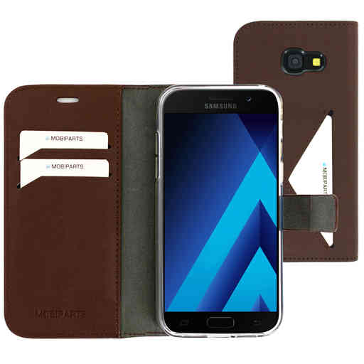 Mobiparts Classic Wallet Case Samsung Galaxy A5 (2017) Brown