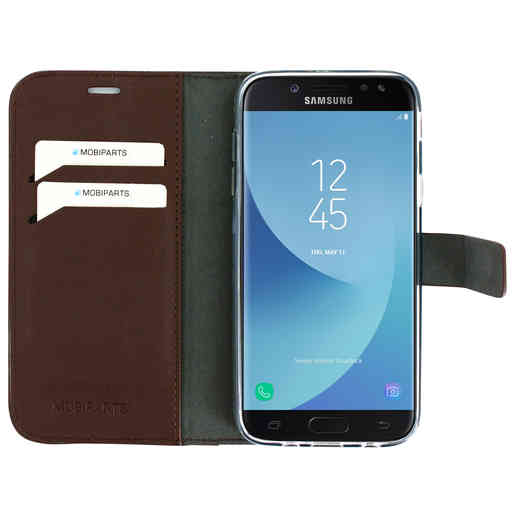 Mobiparts Classic Wallet Case Samsung Galaxy J5 (2017) Brown