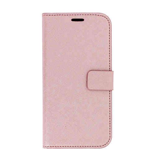 Mobiparts Saffiano Wallet Case Samsung Galaxy J5 (2017) Pink