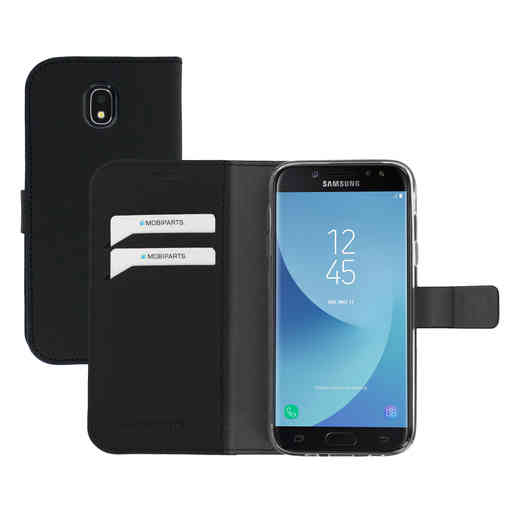Mobiparts Saffiano Wallet Case Samsung Galaxy J5 (2017) Black