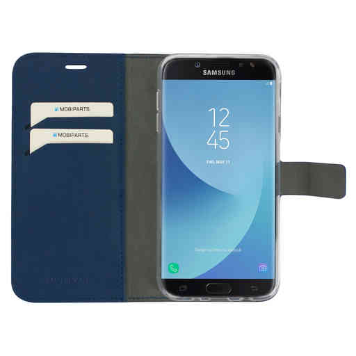 Mobiparts Classic Wallet Case Samsung Galaxy J7 (2017) Blue