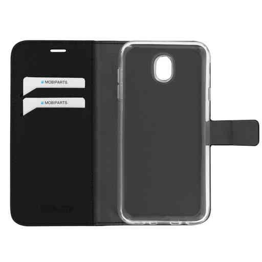 Mobiparts Saffiano Wallet Case Samsung Galaxy J7 (2017) Black