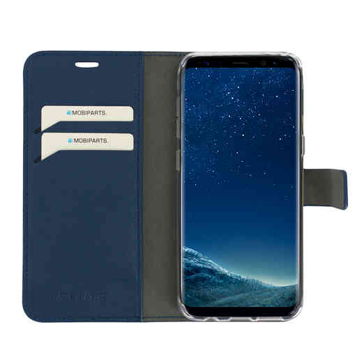 Mobiparts Classic Wallet Case Samsung Galaxy S8 Blue