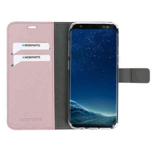 Mobiparts Saffiano Wallet Case Samsung Galaxy S8 Pink